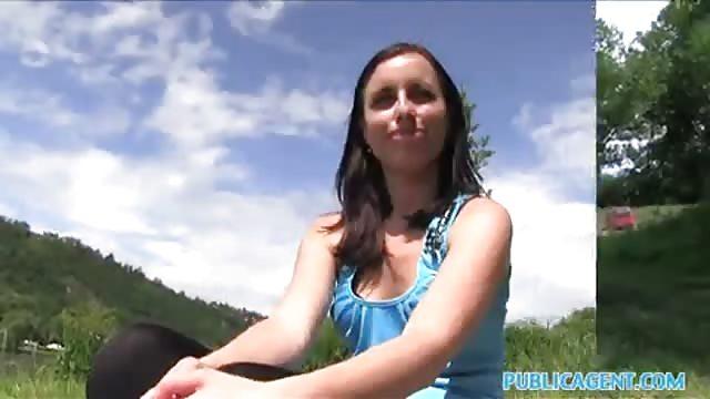 Brunette slut getting fucked