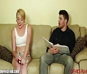 Miley Cyrus' Doppelgängerin in Aktion