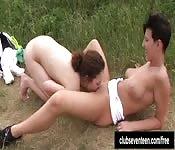 Três lésbicas lambendo suas busetinhas