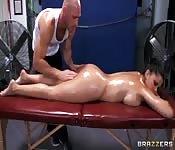 Masaje relajante y sexo intenso