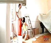 Lucky independent painter