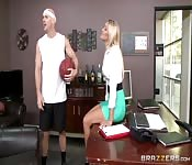 Student and teacher fuck session