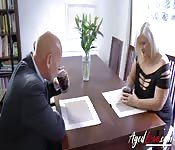 Hot Mom Gets Fucked In An Interview