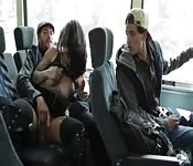 Unbelievable sex in the bus