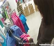 Seks w sklepie i na siłce