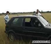 Esperienza in macchina pazzesca