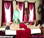 Janet Mason -  A massage from four hands and two mouths
