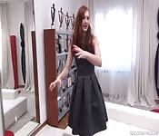 Redhead explores her sexual nature