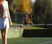 Ficken nach dem Tennis