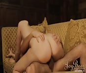 Hot maid gets it on with the butler