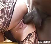 Fucking a brunette milf