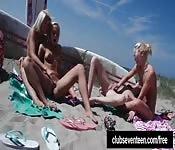 Lustige Strand Action