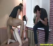 Sister fucked by brother's friend