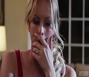 Britney Amber w skórzanej orgii