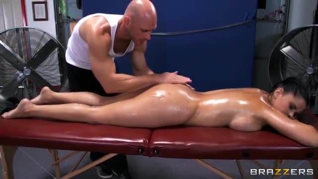 Relaxing Massage And Intense Sex
