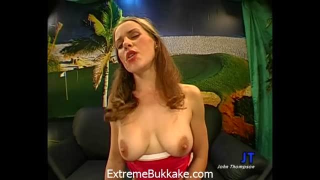 Bukkake video porno